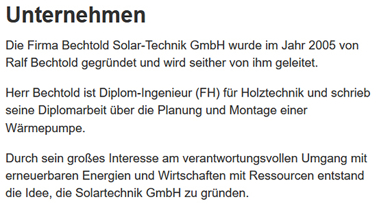 Solar Technik in  Jockgrim