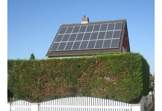 Solaranlage Haus in  Oftersheim